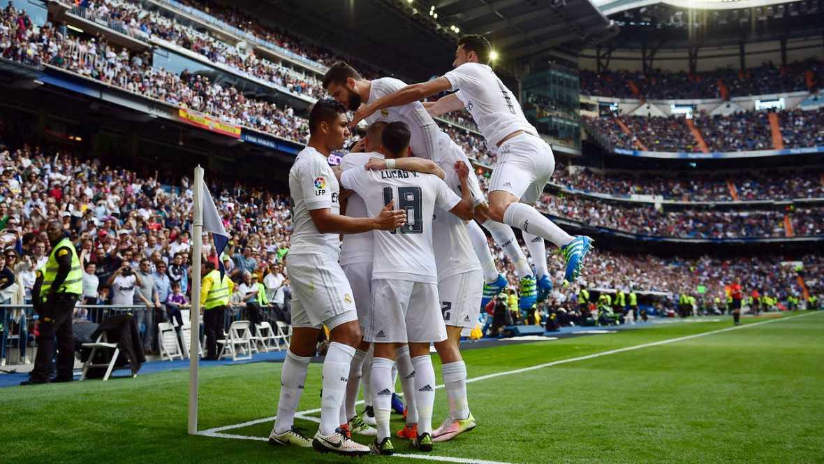Un Madrid lleno de suplentes ensaya con éxito la remontada en el Santiago Bernabéu (4-0)