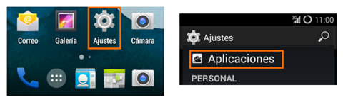 Como eliminar 'Caché' en un teléfono Android, smartphone