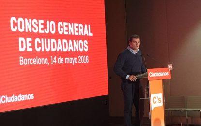 """Rivera: """"Si C's es decisivo habrá un Gobierno estable que lleve a cabo las reformas"""" en España"""