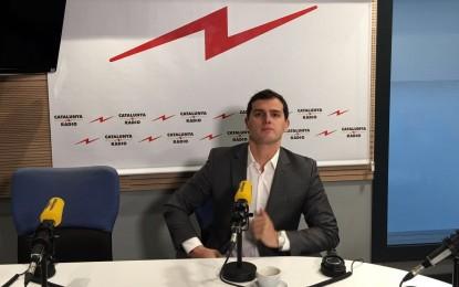 """Albert Rivera: """"El futuro de España no pasa por poner vetos"""" sino """"con diálogo y propuestas"""""""
