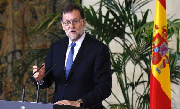 El presidente del Gobierno en funciones, Mariano Rajoy, en el Palacio de la Moncloa. EFE