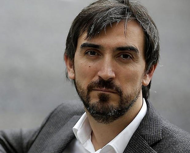 El profesional director de diario.es, Ignacio Escolar, en una imagen archivo de su cuenta oficial en las redes sociales twitter. lasvocesdelpueblo.