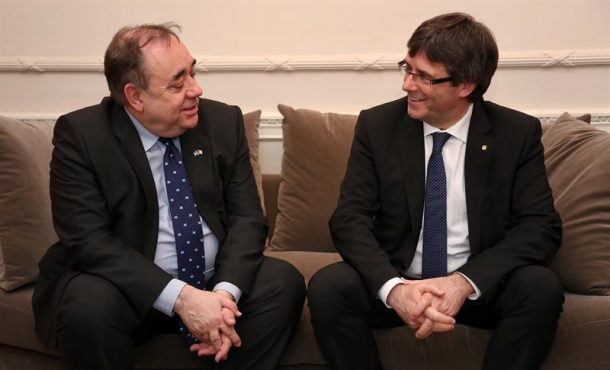 Dimite por acoso sexual el asesor del independentismo catalán, Alex Salmond