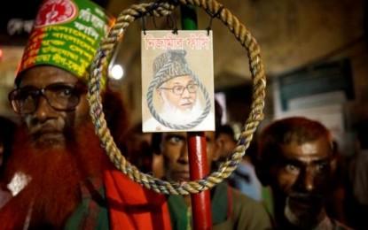Ahorcado el líder de los islamistas en Bangladesh Motiur Rahman Nizami por crímenes de guerra