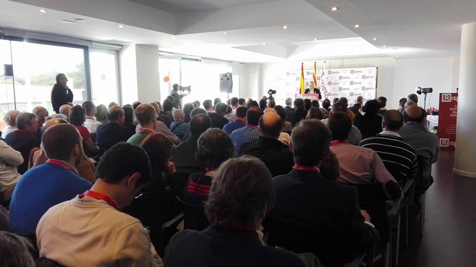 Acto fundacional de RESPETO en Vendrell (Tarragona) 23 de abril 2016. Archivo Lasvocesdelpueblo