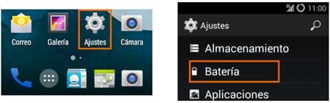 aplicaciones agresivas en un teléfono smartphone