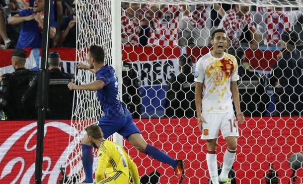 (2-1) España peca de soberbia y le espera Italia a octavos de final de la Eurocopa Francia 2016