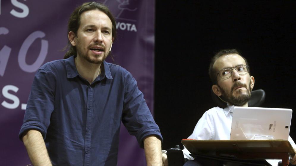 """Podemos quiere que el Rey """"pase por las urnas"""" por su mensaje """"duro"""" contra el separatismo"""