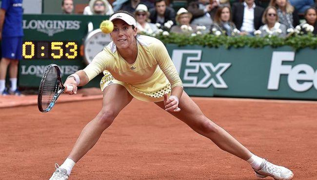 La española Garbiñe Muguruza se apunta su primera victoria en una final de Roland Garros (París)