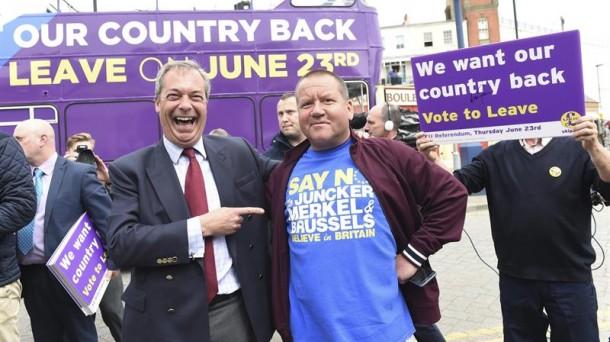 El Brexit está ya a solo 37.000 votos de la mayoría, Reino Unido ya está fuera de la Unión Europea
