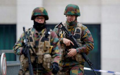 Un detenido en Bruselas con un cinturón de explosivos en un centro comercial