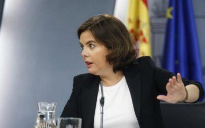 """Gobierno y la Justicia, """"preparados"""" para actuar en Cataluña si se activa el 1-O"""
