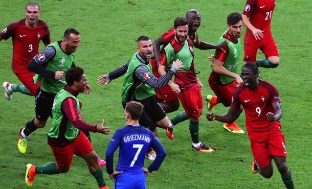 e61fdcac7f Lasvocesdelpueblo y Agencias – Es la primera vez que Portugal vence a  Francia en un partido oficial. Un gol de Eder en el minuto 109 de la  prórroga ha dado ...