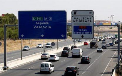 Intensifican la vigilancia para 4,2 millones de viajes del retorno del verano en España