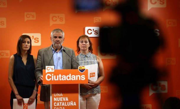 """Cs amenaza con """"romper"""" con el PP por VOX y pide el """"apoyo del PSOE"""" en Andalucía"""