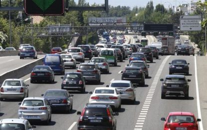 98 personas asistidas en 65 accidentes de tráfico durante el fin de semana