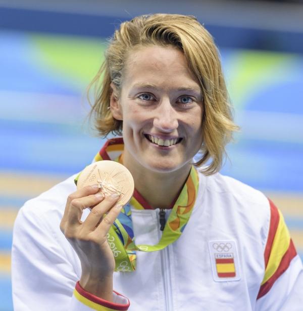 Nuestra chica, Mireia Belmonte, ha conseguido la primera medalla de la delegación española en los juegos olímpicos de Río de Janeiro Brasil 2016. Lasvocesdelpueblo.