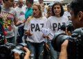 """La opositora venezolana Lilian Tintori denuncia que Maduro ha dado la orden de que """"grupos agresivos actúen"""""""
