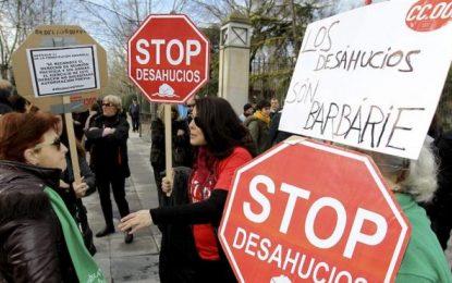 Los embargos hipotecarios en España se reducen un 27,7 por ciento en el segundo trimestre