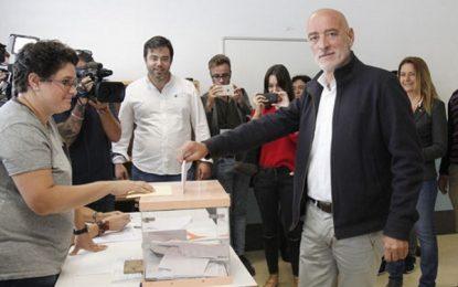 La participación en las elecciones vascas del 25s baja casi 3 puntos con un 44,4% a las 17:30 horas
