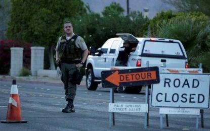 2 policías estadounidenses muertos y un herido en un tiroteo en Palm Springs (California)