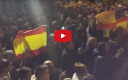 """Alba de Tormes clama contra el secesionismo a gritos: """"¡fuera!"""", monja separatista Sor Lucía"""