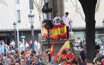 Arriba España y Abajo el separatismo, según el CEO: crece 1,7% el 'No' al separatismo catalán