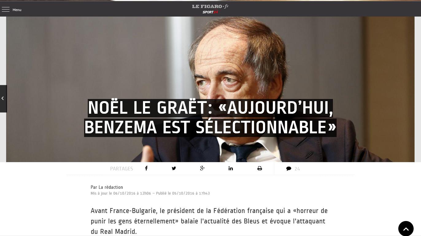 Karim Bensema , hoy es seleccionable. Firma la Federación Francesa de Fútbol (FFF), en una entrevista a 'Le Figaro'. Lasvocesdelpueblo.
