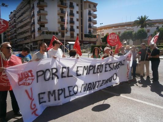 Linares mantiene los puestos de trabajo de los aparcamientos de San Agustín y Santa Margarita. Imagen cedida. lasvocesdelpueblo