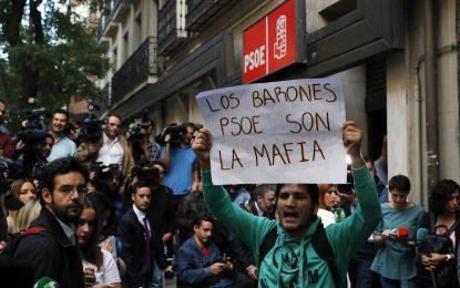 20 días después del 'NO' al PP de 15 díscolos de PSOE, la Gestora decide hoy sobre el expediente de expulsión