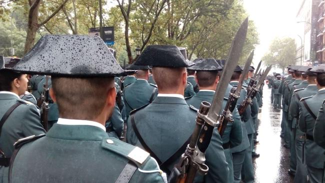 La Guardia Civil en el Parlamento de Cataluña y Gobierno de la Generalidad por el caso 3%