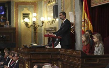 """El Rey convencido de que en el Pueblo Español """"late un profundo deseo de convivencia, entendimiento y voluntad de progresar juntos"""""""