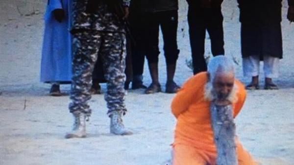 Al Arabia, أعدم تنظيم أنصار بيت المقدس (داعش سيناء)، أحد الرموز الدينية في سيناء والبالغ من العمر 100 عام. Lasvocesdel`pueblo