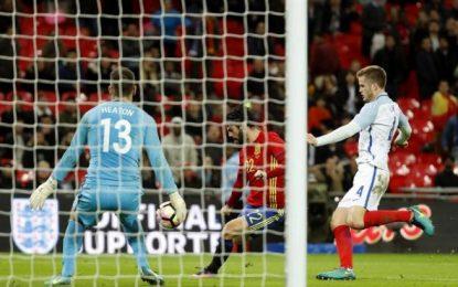 Agónico empate de la Selección ante Inglaterra (2-2) en un pobre encuentro en Wembley (Reino Unido)