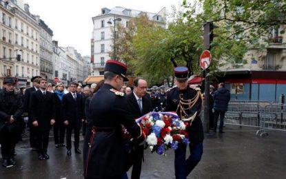 Francia rinde homenaje a las 130 víctimas de los atentados yihadistas de París, primer aniversario