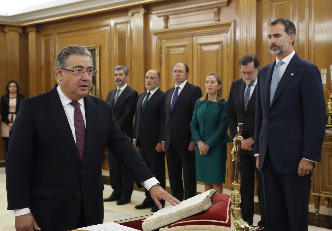 El ministro de interior se estrena con la detenci n del for Nuevo ministro del interior