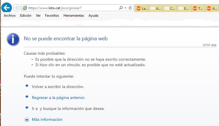 Captura pantalla de la web de 'La Gorda' que se ha quedado hoy inútil. Lasvocesdelpueblo.