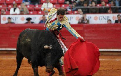 El diestro Arturo Saldivar, absoluto triunfador de la corrida de Jalpa (Zacatecas) México