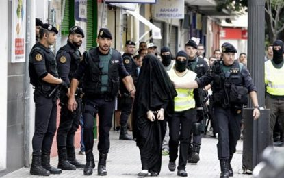 5 delitos de terrorismo para la yihadista marroquí detenida en 2015 en Gandía (Valencia)