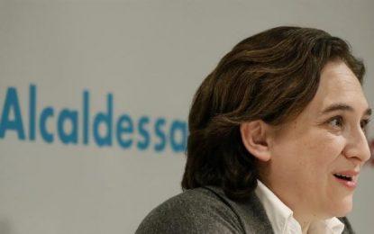 Ada Colau pacta con Ciudadanos C's y el separatismo (ERC y CIU) en Cataluña
