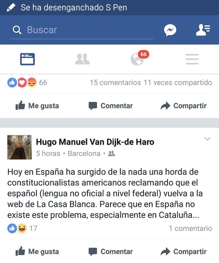Comentario del español Hugo Manuel Van Dijk-de Haro . lasvocesdelpueblo
