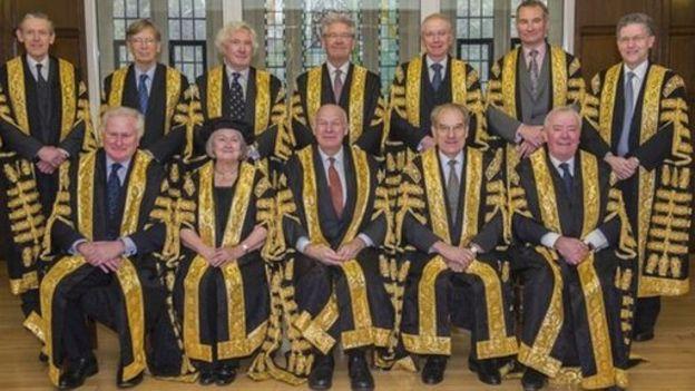 La apelación del gobierno fue rechazada por los 11 jueces de la Corte Suprema, la máxima instancia judicial en el Reino Unido. Foto BBC News.
