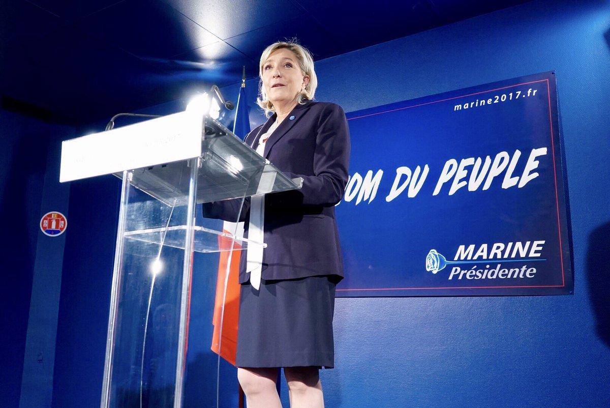 """Marine Le Pen: El atentado de París pone en evidencia que """"la pesadilla empieza una vez más"""""""