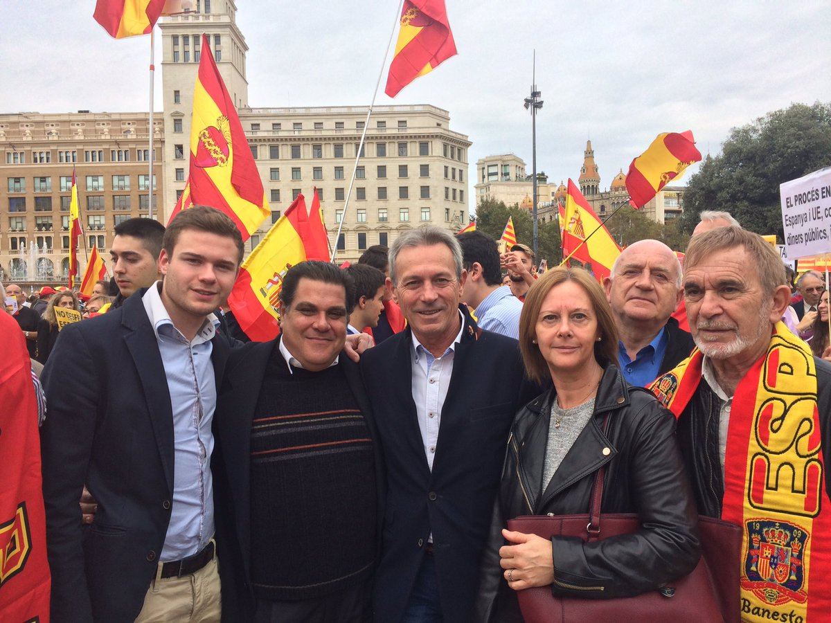 "Anglada acudirá mañana a la manifestación de San Feliu, ""no queremos"" una España ""islamizada"""