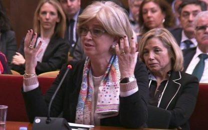 Juicio 9N: La encausada Rigau miente ante el Tribunal, 'no presionamos a directores de colegios'