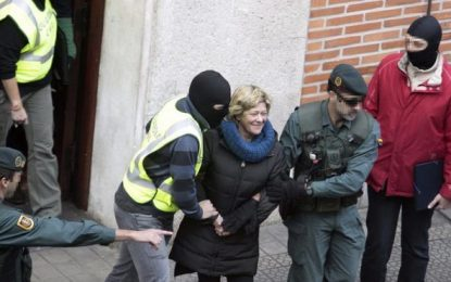 Arantza Zulueta, abogada del 'diablo' (ETA) debe pagar 200 mil euros para poder salir de la cárcel