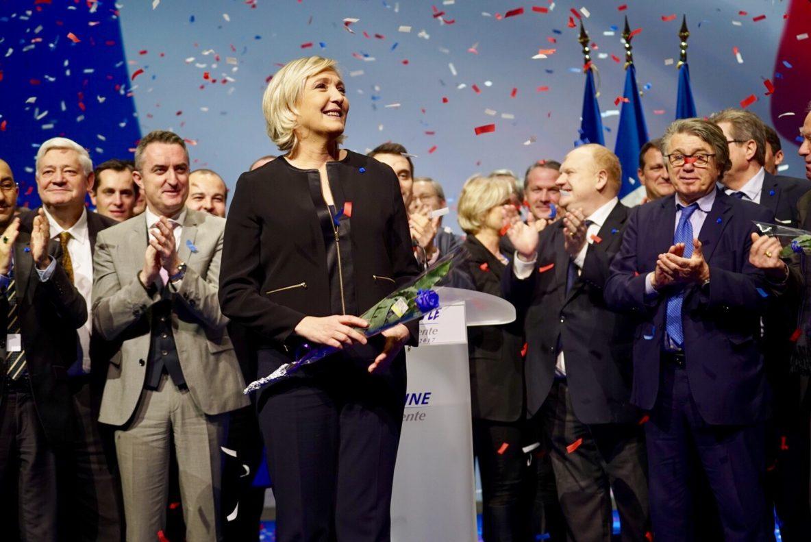 VOX compartirá su sede con votantes de Marine Le Pen el domingo 23, elecciones francesas