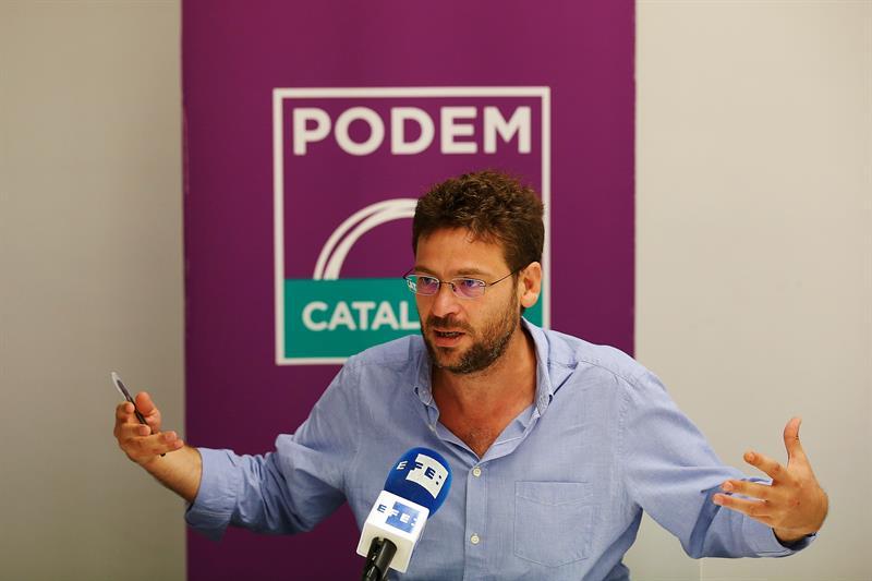 Podemos Cataluña redactará la Constitución independentista de República Catalana