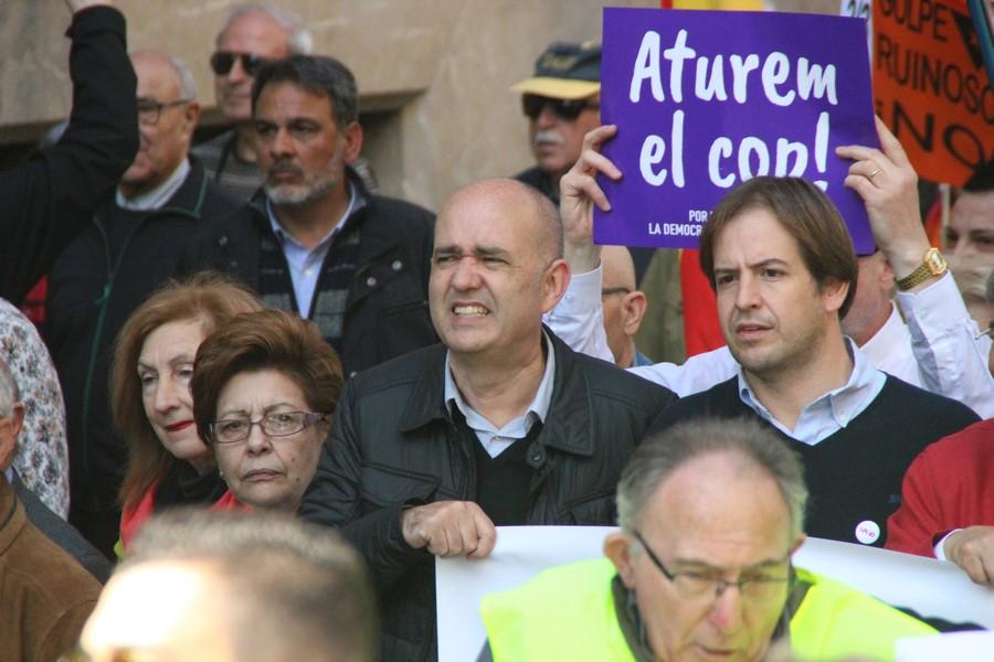 """Cristian Brown: UPyD volverá """"pronto en el Congreso"""" y pide parar """"el golpe separatista"""""""