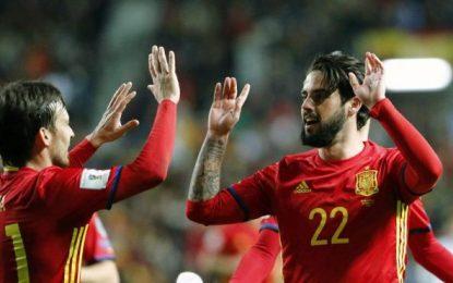 Isco, Iniesta y Koke para jugar contra Francia en Saint Denis